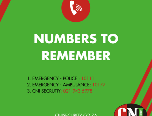 Numbers to remember
